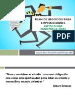 Plan de Negocios para Emprendedores_Capítulo Uno