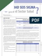 Calidad 6sigma Sector Salud