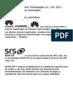Huawei HiChat User Guide-_04,Spanish_ for Europe Spanish 20110930.v2