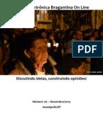 Revista Eletrônica Bragantina On Line - Dezembro/2013