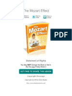 Mozart Effect
