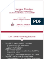 Oak Cliff Chamber Low-Income Housing Report