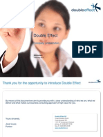 Double Effect Company Presentation