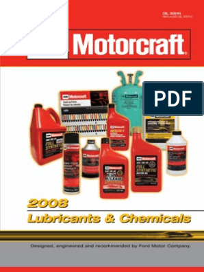 Motor Craft Ford Oils | Motor Oil | Exhaust Gas