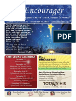 Encourager for December 22, 2013