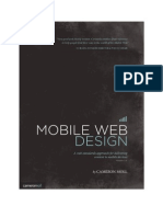 Mobile Web Design Excerpt