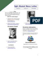 DHS Newsletter 10.Doc