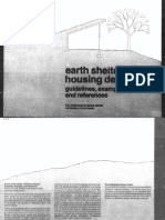 Earth Sheltered Housing Design-guidelines, Examples and References