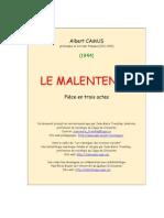 Camus Malentendu
