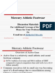 Mercury Athletic Slides