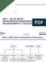 Nic 32 y 39 Ifrs 7 Instrumentos Financieros