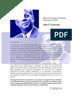 Discurso de Toma de Posesión - John F. Kennedy
