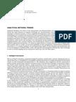 Analytical Methods, Trends