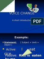 Voice Change_Presentation