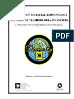 Spanish Financial Glossary