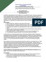 EFT Choice Method Basic Statements