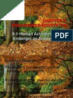 Chapter 9 Endanger Ecosystem by Saudah Mohd. Noor