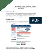 Tutorial de Como Crear Una Cuenta en PayPal