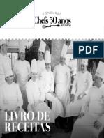 Livro 50 anos - Chef POR