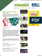 2013-11-16 Sin Mordaza (Argentina)-Alumnos de teatro presentan Improcuentos .pdf
