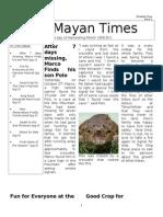 The Mayan Times Redo