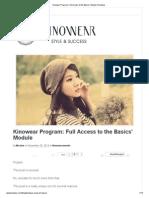 Kinowear Program_ Full Access to the Basics' Module _Kinowear