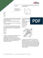 Matematica Geometria Espacial Prismas Exercicios
