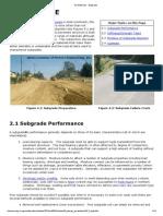 Standard Base Course Soil Modulus