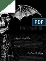 Avenged Sevenfold Hail to the King PDF