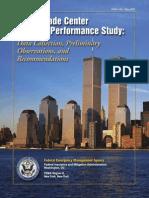 2002 FEMA Us 91- Fema Wtc Building Perfomance Study 19p