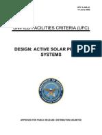 2002 Dod Ufc 3-440-01 Design - Active Solar Preheat Systems 99p