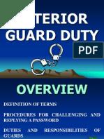 D-Interior Guard Duty