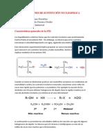 REACCIONES DE SUSTITUCIÓN NUCLEOFILICA - Alejandro Fuentes