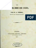 Thiers Adolphe - La Monarchie de 1830