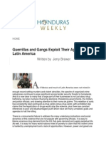 Guerrillas and Gangs Exploit Their Agendas in Latin America