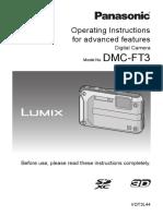 Panasonic Lumix DMC-FT3 Manuals