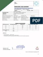Example of Test Report of en 933-3