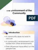 SS3_Environment OfCommunity Development