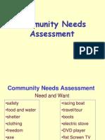 SS5_Needs Assesment in Community Developmen