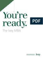 Ivey MBA Brochure
