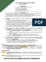 Examen Parcial-Acero, Madera, Concreto , Ladrillo
