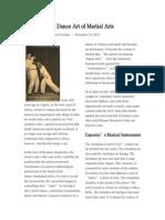 Capoeira the Dance Art of Martial Arts
