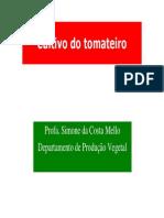 Olericultura - Cultivo Do Tomateiro ESALQ