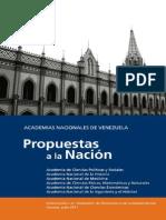 Documento Academias Nacionales