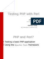 Testing Php With Perl
