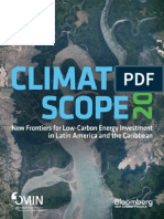 Bloomberg - IDB - Climate Scope 2013 - Low Carbon Energy Investment