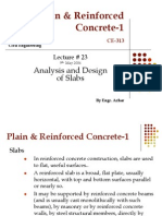 Lec-23- Analysis and Design of Slabs