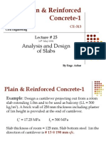 Lec-25- Analysis and Design of Slabs