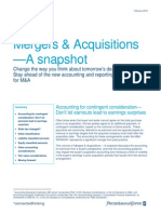 Ma Snapshot Accounting Contingent Consideration