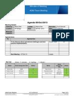 09102013- Team Meeting Agenda